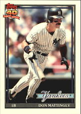 Don Mattingly Topps Baseball Card